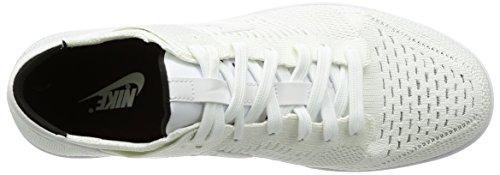 101 Flyknit Nike White Uomo Scarpe Black da Basket Dunk 6q5xqw8a