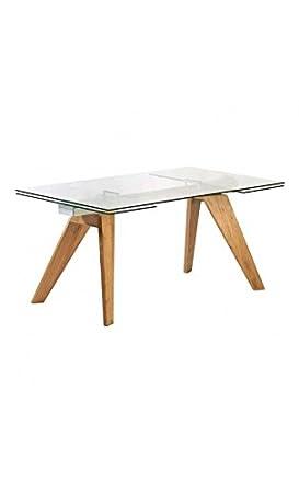 CAMINO A CASA - Mesa de Comedor Design 160 - 240 cm Madera y ...