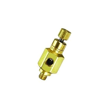 Clippard MNV-3 Needle Valve 2.5 scfm @ 50 psig 5 scfm @ 100 psig 10-32 Input Ports