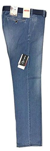 Meyer - Pantalon - Homme bleu bleu jeans