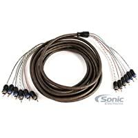 NVX 5 meters 6-Channel V-Series Car Audio RCA Interconnect Cable - 16.40 feet [XIV65]