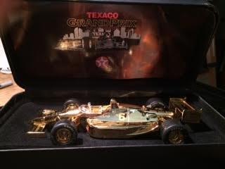 Texaco Grand Prix Car 24K GOLD Houston Grand Prix 1998