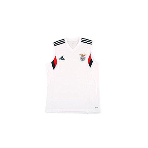 ed9d965b3b3 adidas Men s SLB SL Sport Lisboa e Benfica Jersey-Red Black White GRIOSC Ben.RO