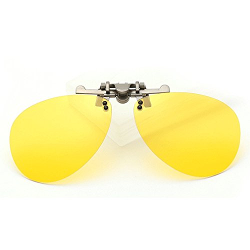 LOMOL Fashion Polarized Myopia Clip-on Flip up UV Protection Aviator Style - Raybon Sunglass