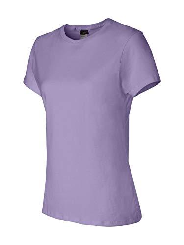 Hanes womens 4.5 oz. 100% Ringspun Cotton nano-T -