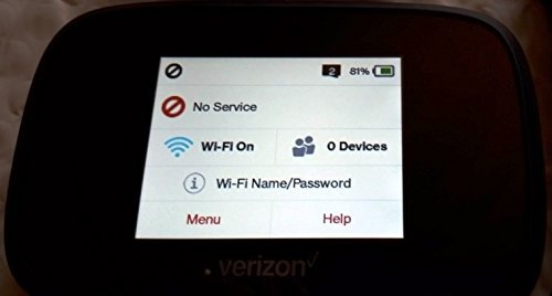 Novatel Verizon Wireless Jetpack 7730L 4G LTE Advanced Mobile Hotspot MIFI7730L (Renewed)