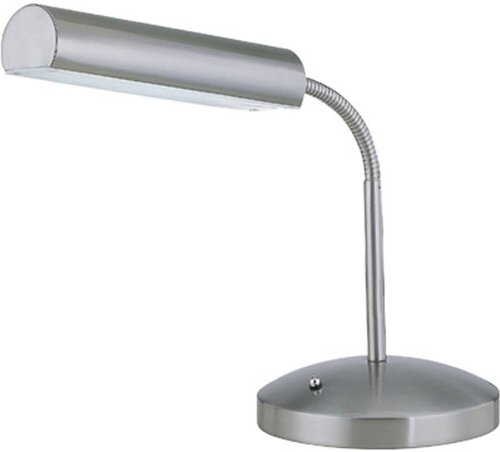 Lite Source LS-20925PS Broden Desk Lamp, Polished Steel