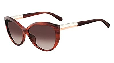 Calvin Klein Collection Sunglasses CK7874S 612 Mahogany Horn 59 15 135