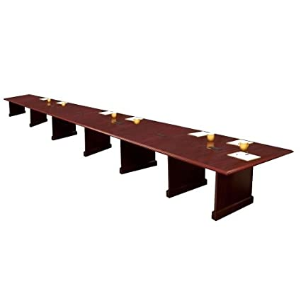 Amazoncom High Point Expandable Conference Table With Data Port - Expandable conference room table