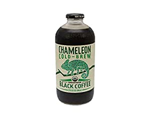 Chameleon Cold Brew Organic Black Coffee Concentrate, 32 Oz (Pack Of 6)