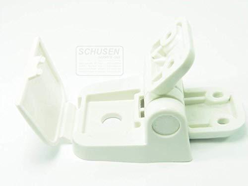 (Jabsco Hinge Set, Regular Size Wood Seat/Lid Assembly 29098-2000, Hinge Set, Regular Size Wood Seat/Lid Assembly)