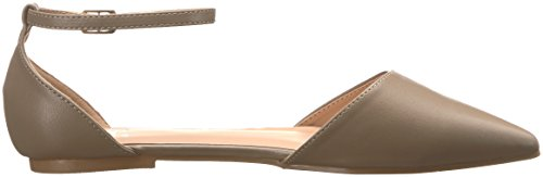 Brinley Co Womens Ria Ballet Flat Taupe