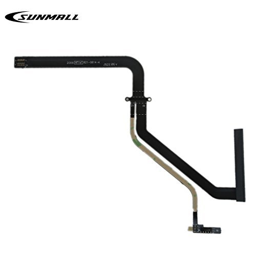 """SUNMALL Replacement Hard Drive Cable with IR Sensor for 2009 2010 A1278 MacBook Pro 13"""" Unibody 821-0814 821-0814-A 922-9062"""