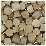 WIDGETCO 5/16'' Maple Wood Plugs, Face Grain