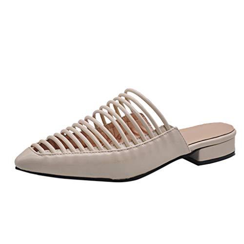 Clearance! Slippers Women Spring and Summer Flat with Women's Shoes Slippers Women's Shoes Summer Beach Platform/Wedge/High Heel Slippers for Girls Women Ladies Indoor Outdoor Under 10 Dollars