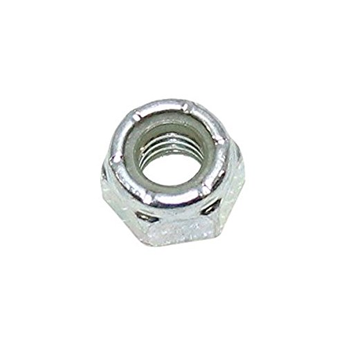 Husqvarna 873800500 Lawn Tractor Hex Lock Nut Genuine Original Equipment Manufacturer (OEM) part for Husqvarna, Poulan, Craftsman, Weed Eater, Dixon, Yard Pro, Rally, & Ariens