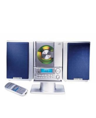 Sharper Image Compact Cd Stereo With Amfm Digital Tuner So226