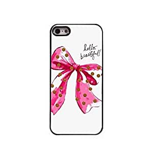 DD Hell Beautiful and Bow knot Design Aluminum Case for iPhone 5/5S