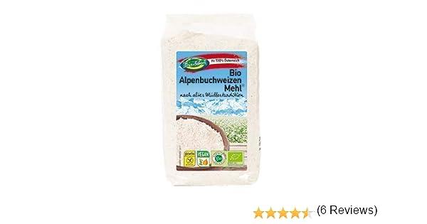 Harina de trigo sarraceno ecológica sin gluten 2,4kg Bio ...