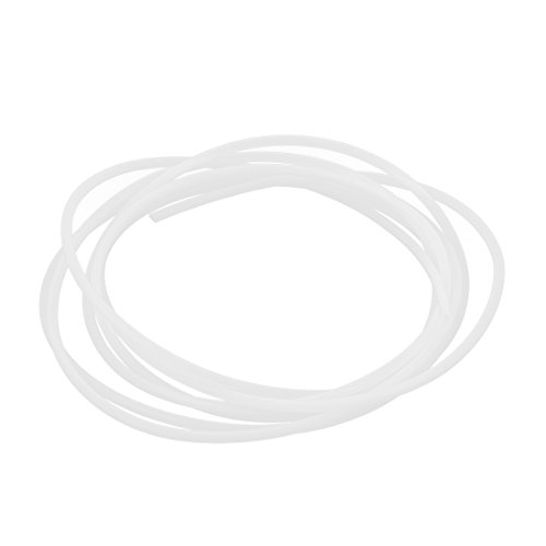 Od Tube (2mm ID 3mm OD PTFE Tubing Tube Pipe 2Meters for 3D Printer RepRap)
