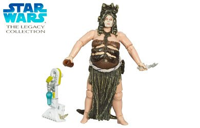 Yarna D'Al' Gargan Jabba's 3-Bikini Slave Girl Dancer Star Wars The Legacy Collection Action Figure