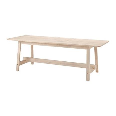 IKEA mesa, color blanco 86 de abedul 5/8 x 31 1/2 ...