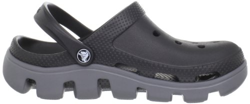 Crocs Unisex Duet Sport Clog Black / Charcoal