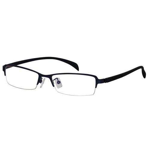 EyeBuyExpress Shield Blue Reading Glasses by EyeBuyExpress