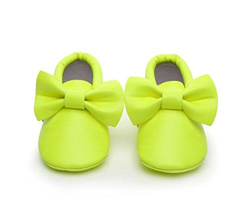 AngelaKerry - Zapatos primeros pasos de Otra Piel para niño cian