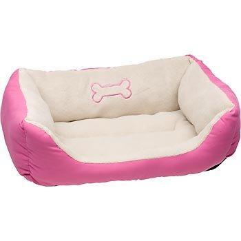 Petco Bone Box Bed in Pink, My Pet Supplies