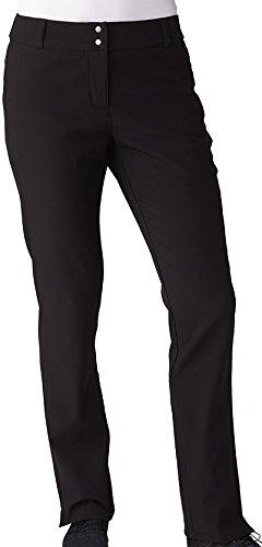 adidas Golf Women's Climastorm Fall Weight Pants, Black, Size 8