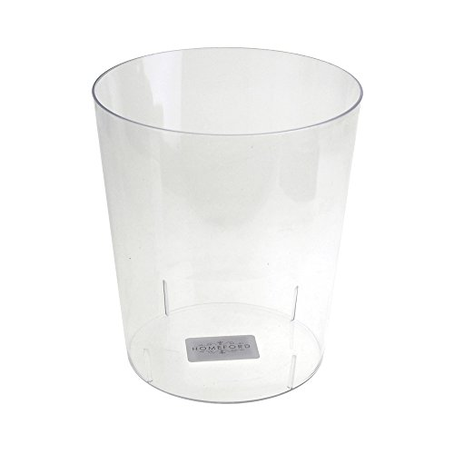 Homeford Clear Plastic Cylinder Favor Container,