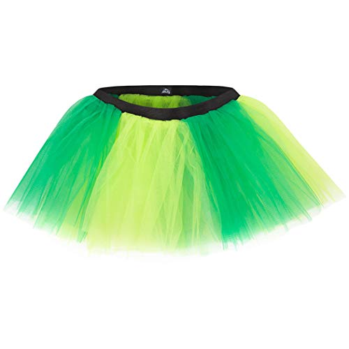 Gone For a Run Runners Tutu Lightweight | One Size Fits Most | Two Tone Green -