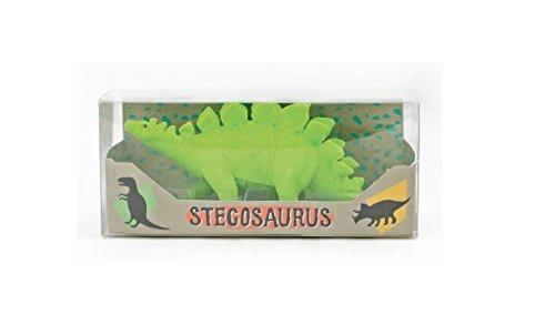 International Arrivals Dinosaur Eraser, Stegosaurus, Set of 1 (112-062) Style: Stegosaurus Eraser, Model: 112-062, Office Shop