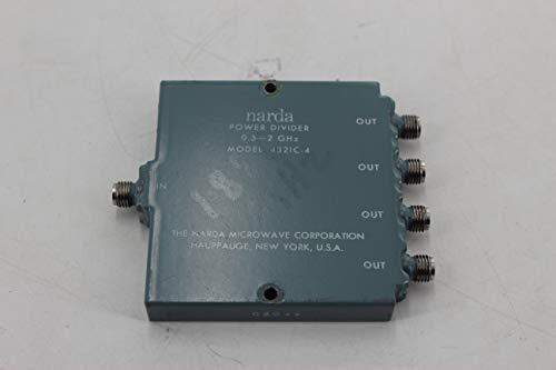 Narda 4321C-4 4-Way Power Divider 0.5 to 2.0 GHz
