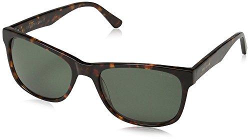 Obsidian Sunglasses for Women or Men Square Frame 02, Tortoise, 54 mm