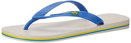 Ipanema Herren Classica Brasil Ii Ad Zehentrenner Mehrfarbig (beige/blue)