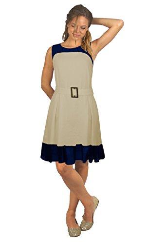 Vestido Bicolor Nisal
