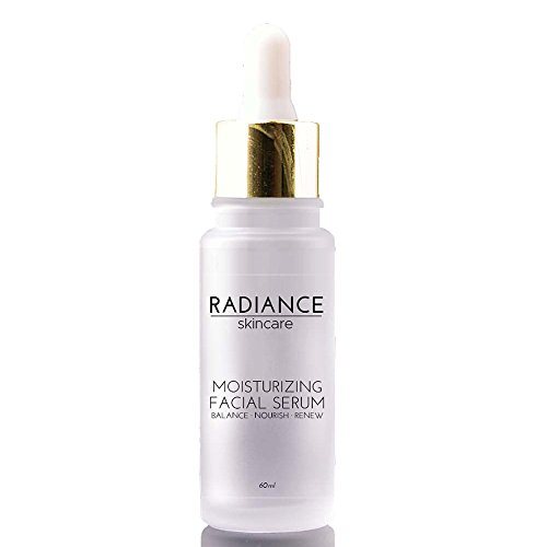 (Radiance Skin Care - Moisturizing Facial Serum with Hyaluronic Acid | Natural Anti-Aging Skincare Treatment | Witch Hazel, Aloe, Jojoba Oil | Anti-Aging Acne & Dark Spot Corrector - 60mg / 2 fl oz)