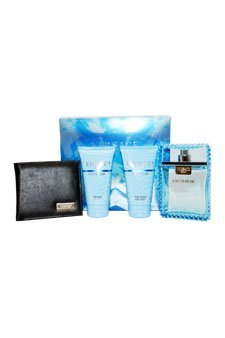 Versace Man Eau Fraiche 4 Piece Gift Set for Men