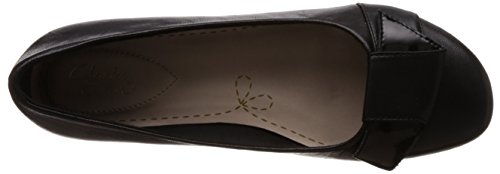 Leather Clarks Black Discovery Dime Black Discovery Leather Clarks Dime S8fq6xI
