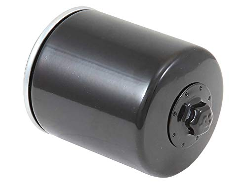 K&N Motorcycle Oil Filter: High Performance Black Oil Filter with 17mm nut designed to be used with synthetic or conventional oils fits 1996-2018 Harely Davidson, Buell Motorcycles KN-171B (Best Cam For Stock 103 Harley)