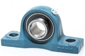 Big Bearing UCP201-08 Pillow Block Bearing, 1/2