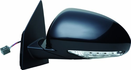 Fit System 62108G Buick Enclave Driver Side Replacement Flat Mirror with Turn - Mirror Enclave Drivers Buick Side