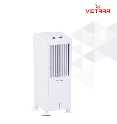 Vistara Nexa Tower Air Cooler 13 Liters Tower Air Cooler with Ice Chamber (White)