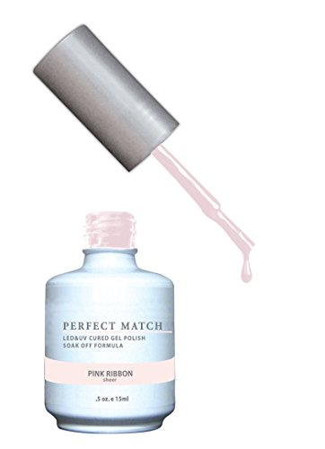 LECHAT Perfect Match Nail Polish, Pink Ribbon, 0.500 - Match Ribbon