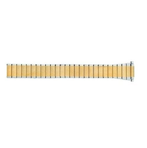 Ladies Two Tone Metal Expansion 10-14mm Replacement Watchband