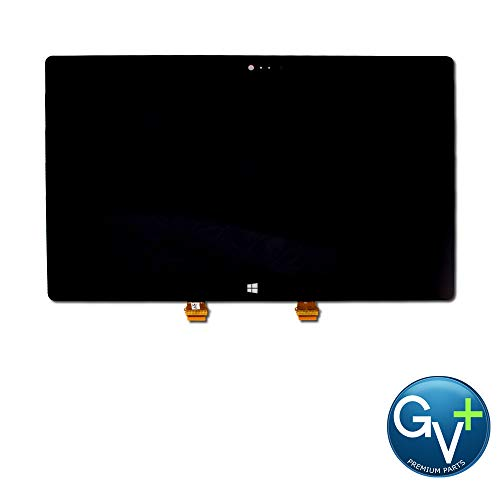 Touch Screen Digitizer and LCD Compatible with Microsoft Surface 2 - Black (Ipod Touch 5th Generation Screen Repair Service)