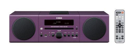 UPC 027108942322, Yamaha MCR-042PU Desktop Audio System (Purple)