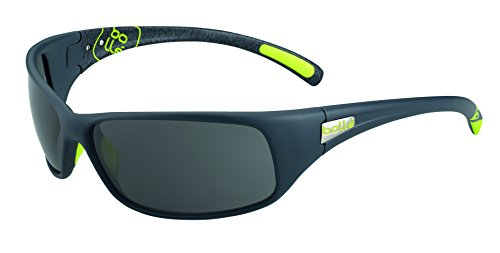 Bolle Recoil Sunglasses Matte Grey/Green, - Bolle Sunglasses Recoil